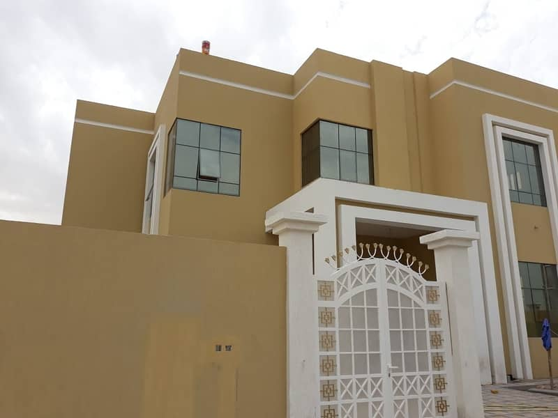 2 For sale a new two-story villa with a corner of two streets with an extension