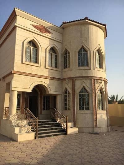 فیلا 6 غرفة نوم للبيع في مشيرف، عجمان - For sale a two-story villa with electricity and water in Mashirf