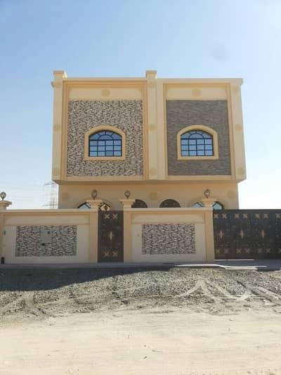 4 Bedroom Villa for Sale in Al Helio, Ajman - For sale a two storey villa in Ajman