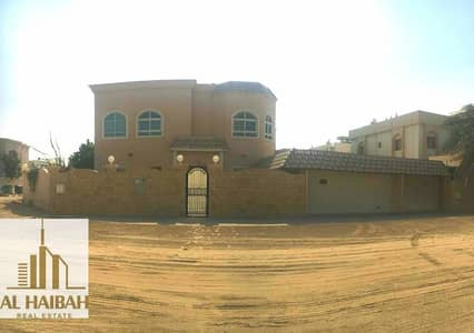 5 Bedroom Villa for Sale in Al Ramtha, Sharjah - Two-storey villa in Al-Ramtha second corner of the main street