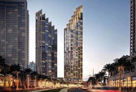 شقة 2 غرفة نوم للبيع في وسط مدينة دبي، دبي - Brand New 2 BR plus Study with Burj View