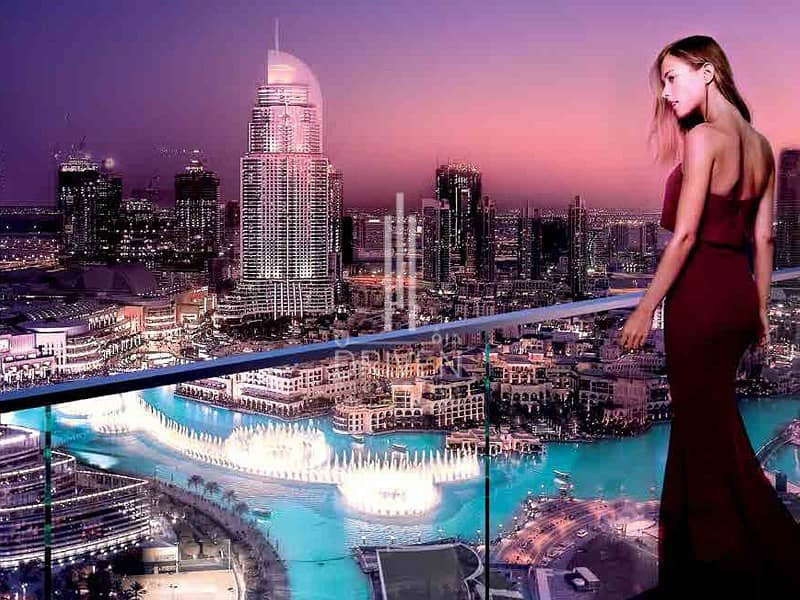 2 OWN A LUXURIOUS 5 BEDS W/ FULL BURJ VIEW