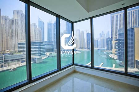 شقة 2 غرفة نوم للبيع في دبي مارينا، دبي - Marina View Spacious 2BR Silverene Tower