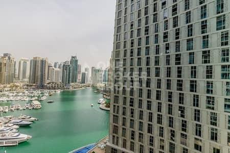 1 Bedroom Flat for Rent in Dubai Marina, Dubai - Breathtaking Marina/Sea View|Chiller Free