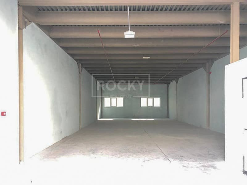 2 Brand New Warehouse in Ras Al Khor Near to exit
