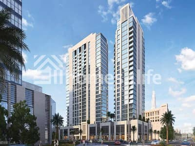 1BR Facing Burj Khalifa and Pool located in Bellevue Tower