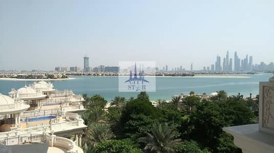 شقة 4 غرفة نوم للايجار في نخلة جميرا، دبي - 4 BR apartment in Kempinski the Palm with full sea view