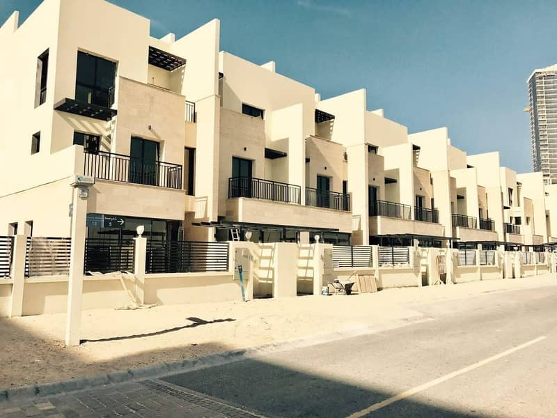 4 BR+Maids Room With Private Lift Townhouse in Jumeirah Village Circle