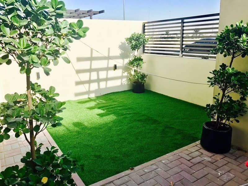 18 4 BR+Maids Room With Private Lift Townhouse in Jumeirah Village Circle