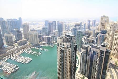 شقة 3 غرفة نوم للبيع في مساكن شاطئ جميرا (JBR)، دبي - Beautiful 3BR Loft w/Sea and Marina View