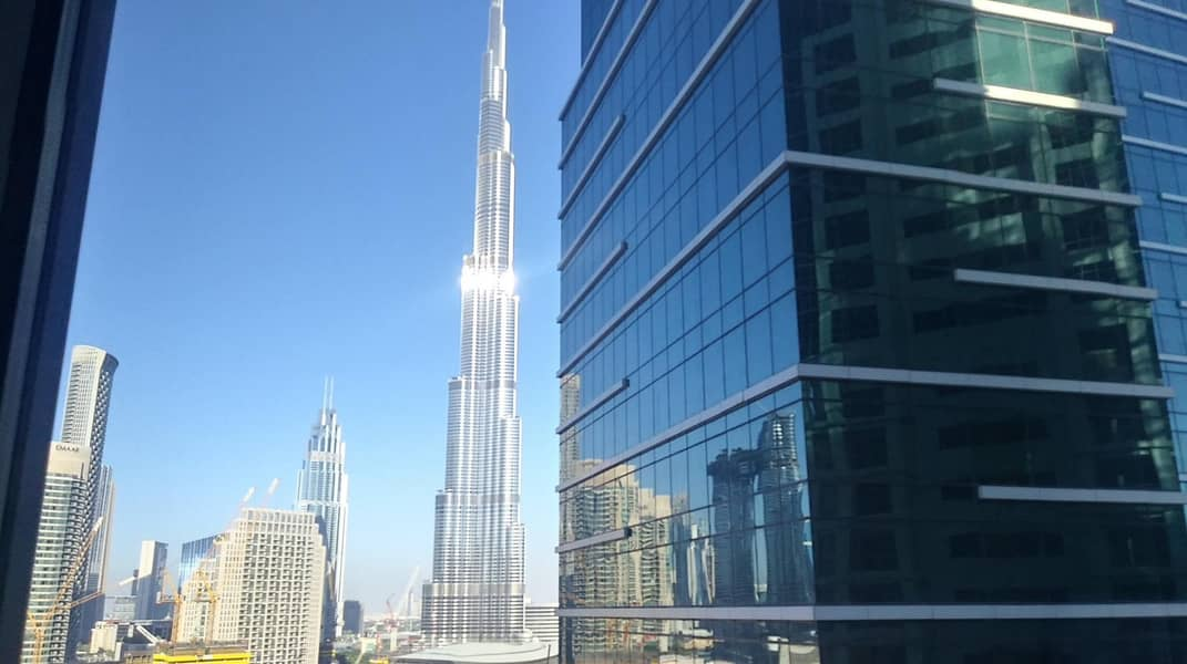 10 Upgraded Vacant office with Burj view in Aspect (Executive) tower