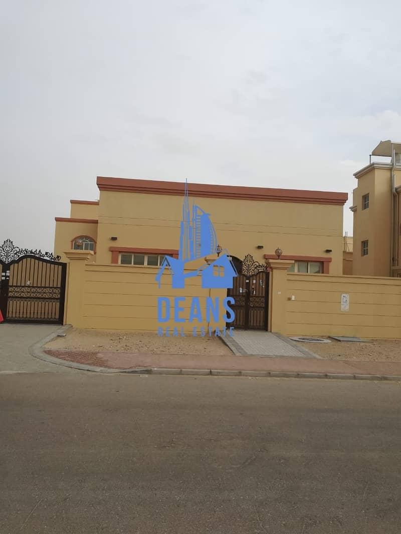 Fabulous 6BR +M+D Villa in Shakhbout City (Khalifa B)