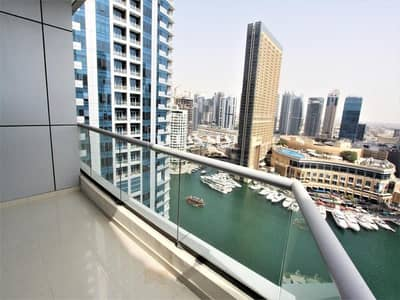 1 Bedroom Apartment for Rent in Dubai Marina, Dubai - Full Marina View | Well Maintained | Vacant