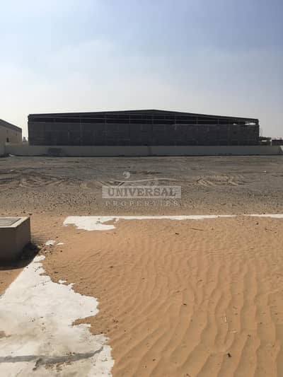 Industrial Land for Rent in Al Jurf, Ajman - Industrial Land 100k Sqft Available For Rent In Ajman Jurf Near China Mall Area