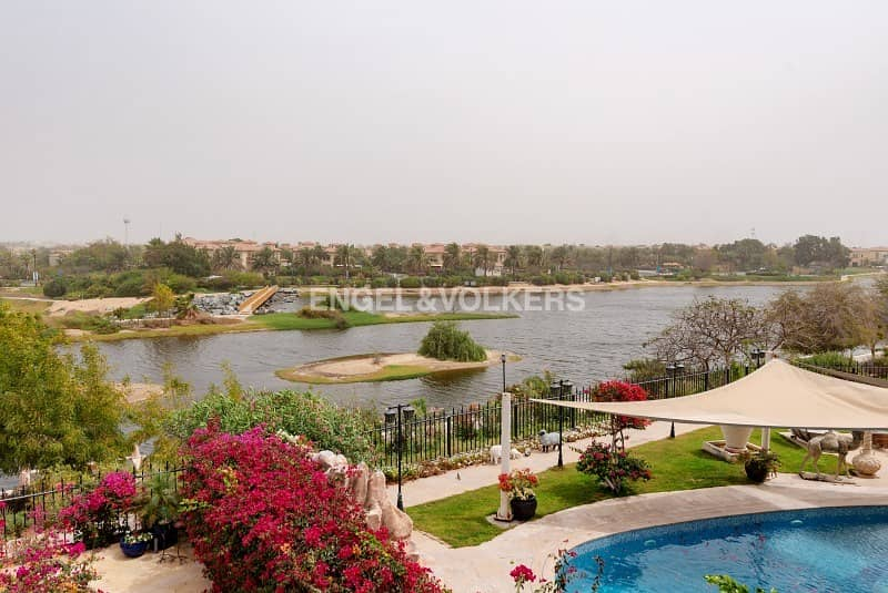 Fully Upgraded | Largest Plot | Lake View