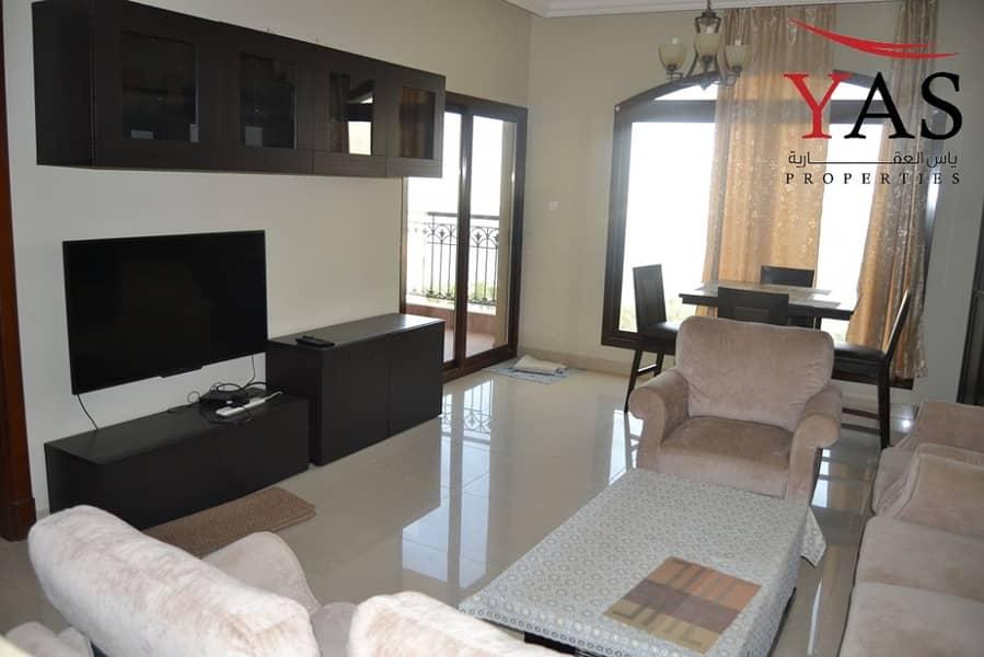 Stunning Furnished One Bedroom For Sale in Marjan Resort.