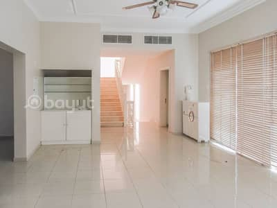 5 Bedroom Villa for Rent in Barashi, Sharjah - Spacious 5BR villa available with swimming pool. .