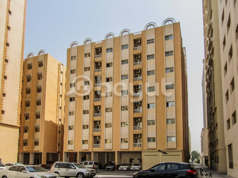 Spacious 2BHK Flat available in Al Qassimia