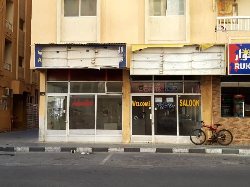 Shop available for rent in Al Qassimia Area