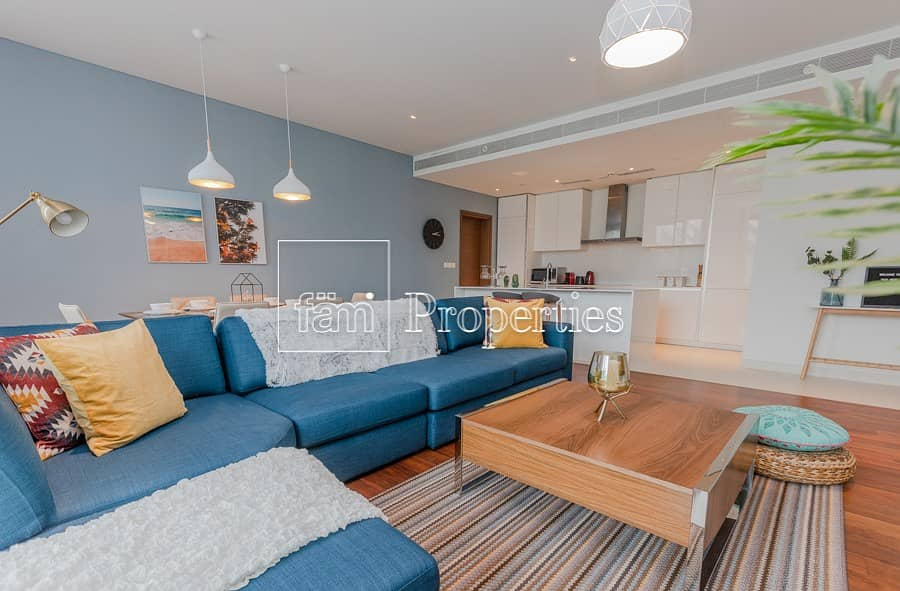 Large Two Bed Furnished | Brand New Unit