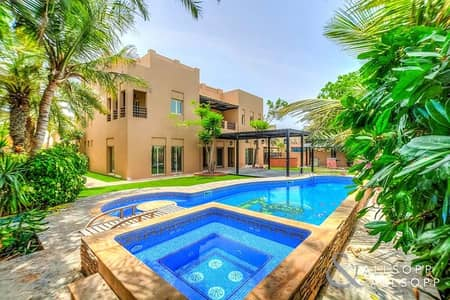 6 Bedroom Villa for Sale in The Meadows, Dubai - Cul-de-Sac | Full Lake Views | Extended