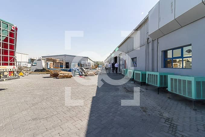 2 900Kw Power warehouse for Factory for Sale in JAFZA NORTH