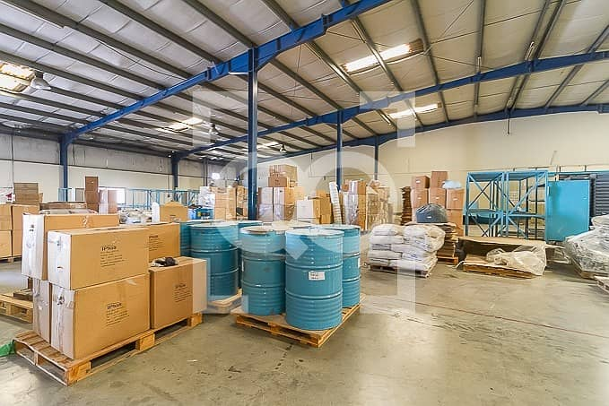 20 900Kw Power warehouse for Factory for Sale in JAFZA NORTH