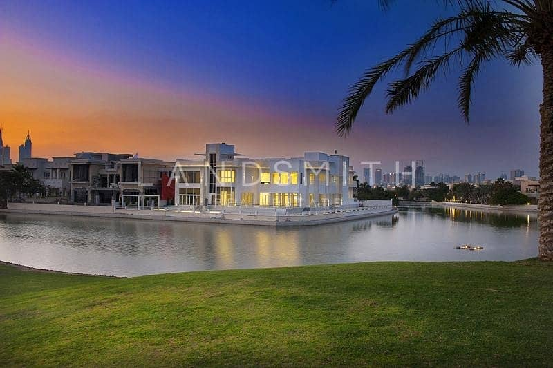 Luxurious 8BR Villa on the Lake in Emirates Hills