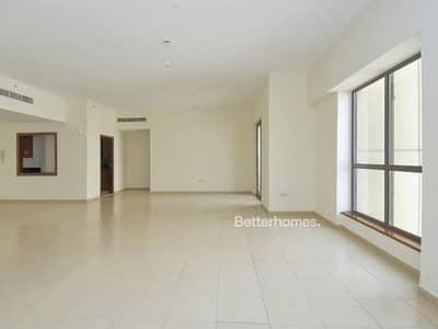 فلیٹ 4 غرفة نوم للبيع في جي بي ار، دبي - Partial Sea View | 4 Bed + Maid's | Balcony