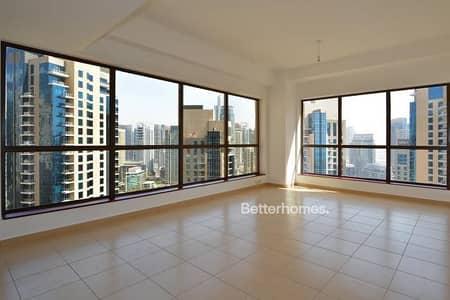 2 Bedroom Flat for Sale in Jumeirah Beach Residence (JBR), Dubai - Unfurnished | Marina View | High Floor