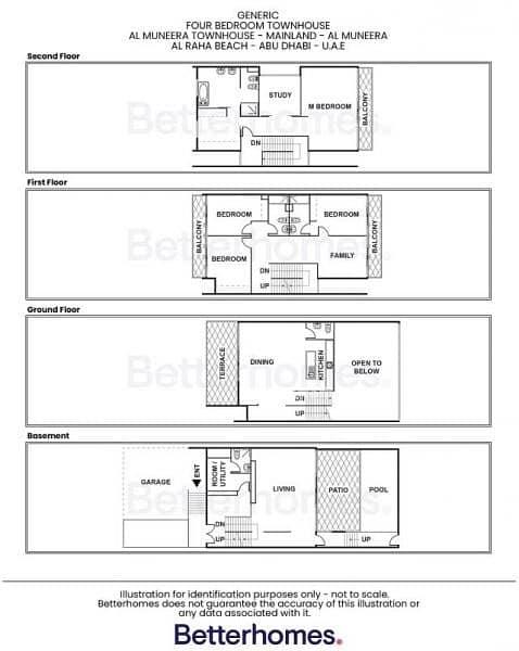 15 Elegant type B Townhouse in Al Muneera with study