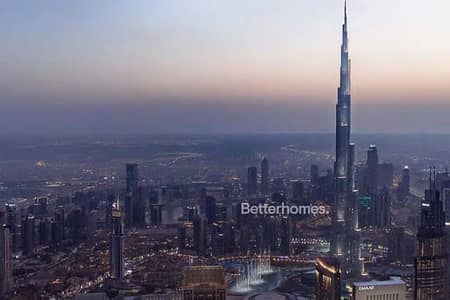 3 Bedroom Apartment for Sale in Downtown Dubai, Dubai - Burj View I High Floor I Great Location