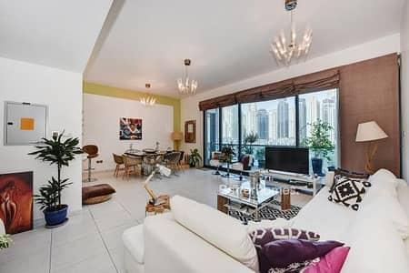 فلیٹ 2 غرفة نوم للبيع في دبي مارينا، دبي - Fully Renovated | 6% guaranteed ROI | Huge Balcony