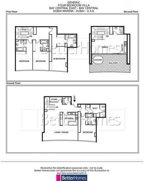 20 Marina Home | 4 Bed Villa | Bay Central East