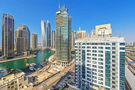 فلیٹ 2 غرفة نوم للبيع في دبي مارينا، دبي - Vacant | Partial Marina View |Diamond 5