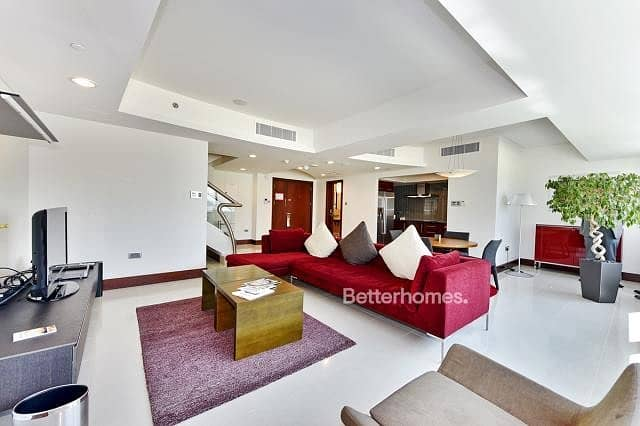 2 Furnished   2 Bed Duplex apartment   Vacant