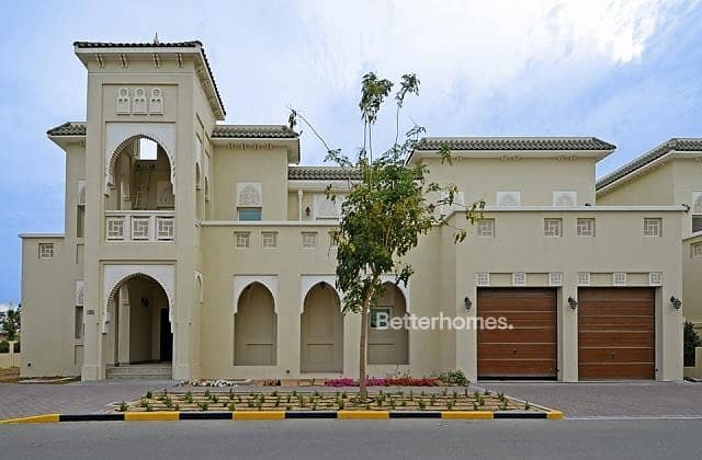 5 Bed Quortaj Style Villa with Maid's in Al Furjan