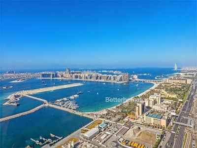 High Floor 3 Bed Duplex in Cayan Tower Sea View