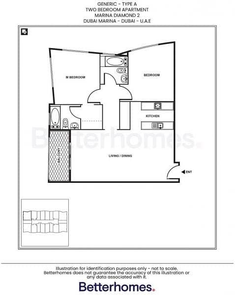 12 Bright | Vacant | Two Bedroom | Low Floor