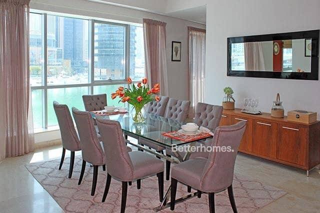 2 4Br + Maid.  Podium Villa  Full Marina View | Upgraded