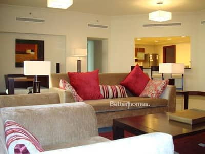 3 Bedroom Apartment for Sale in Palm Jumeirah, Dubai - Furnished | Type A Golden Mile 4 | Park View