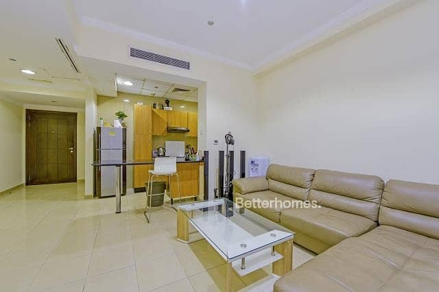 2 Furnished | Partial Sea | Balcony | Rented