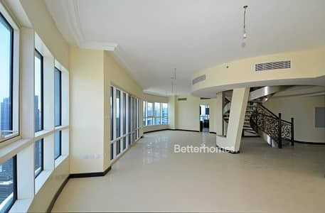 4 Bedroom Flat for Sale in Jumeirah Lake Towers (JLT), Dubai - 4 BR penthouse with Panoramic views