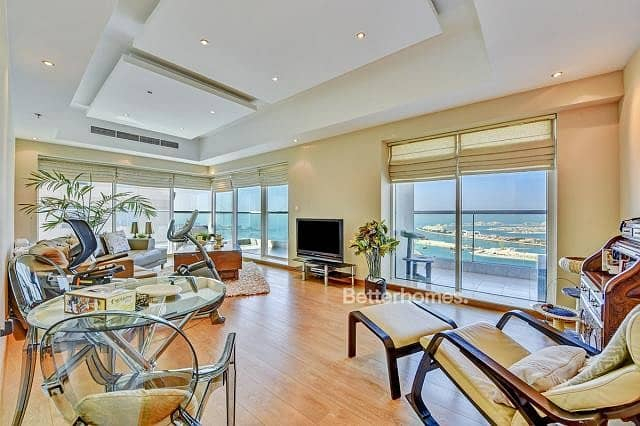 Luxury Furnished | Fully Upgraded | Sea View | Emirates Crown