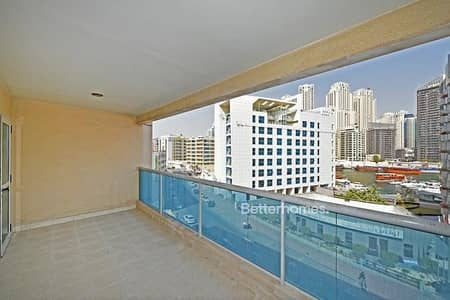 2 Bedroom Apartment for Sale in Dubai Marina, Dubai - Great size property with a Marina View