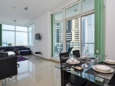 1 Bedroom Apartment for Sale in Dubai Marina, Dubai - Botanica 1Br Fully Furnished with Sea View