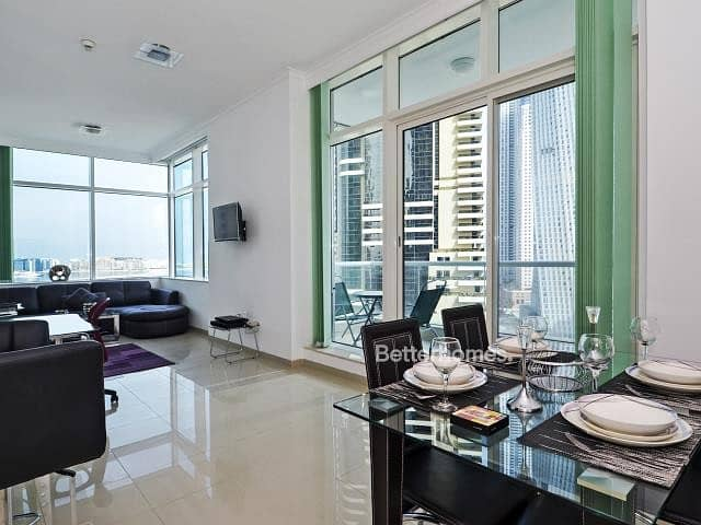 Botanica 1Br Fully Furnished with Sea View