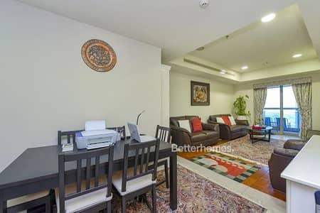 1 Bedroom Flat for Sale in Dubai Marina, Dubai - 1 bedroom - High Floor - Partial Sea View