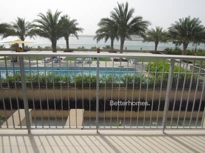 تاون هاوس 3 غرفة نوم للبيع في شاطئ الراحة، أبوظبي - Sea View 3 Bed Townhouse in Al Zeina