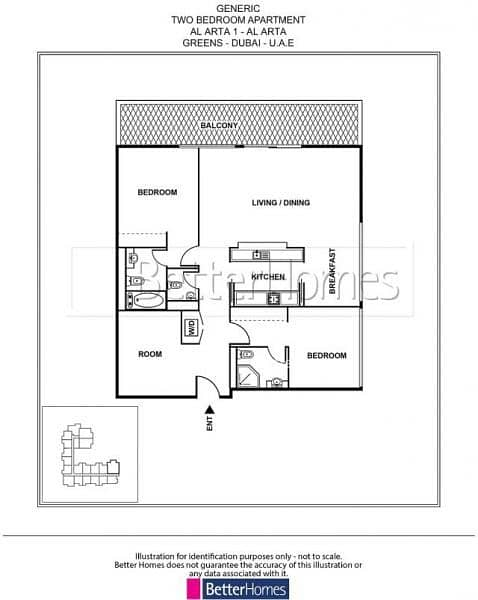13 Park View 2 Bed with Study in Al Arta at Greens